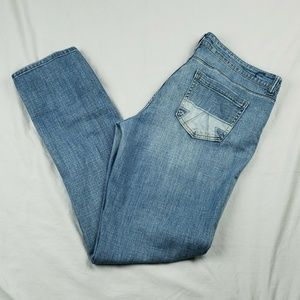 American Eagle Jeans Distressed Pockets Size 14